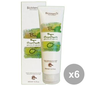 Set 6 BioMERCI! Bagno-Shampoo Gocce Di RUGIADA 300 Ml. Saponi e cosmetici