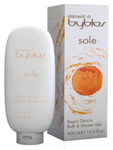 BYBLOS Bagnodoccia sole 400 ml. - bagno schiuma