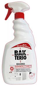 BAKTERIO Bagno Disinfettante TRIGGER 750 Ml. Detergenti Casa