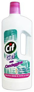 CIF Bagno Gel Con Candeggina 750 Ml. Detergenti Casa