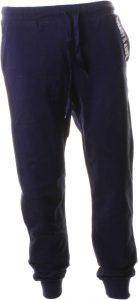 Baci & Abbracci Trousers 90% Cotton- 10% Elastane Blue Bam917-blue