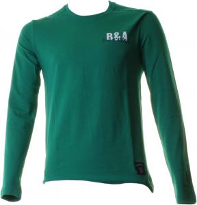 BACI & ABBRACCI T-shirt girocollo maniche lunghe uomo verde BAM927-VERDE