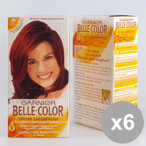 Belle Color Set 6 30 Maroon