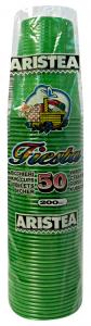 Bicchieri 50 pz. verde 200cc art.218427 - Articoli per pic-nic