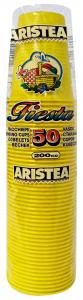 Bicchieri 50 pz. giallo 200cc art.218511 - Articoli per pic-nic