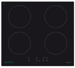 DAYA Dmpci-430 Piano a Induzione Vc 4F Black Dig Piano cottura a incasso
