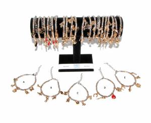 Costume Jewelery Bracelet Pepite Silver-colored Pebbles B04995 Jewels And Bijouterie