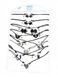 Collana cordino acciaio coppia c06135 - bigiotteria