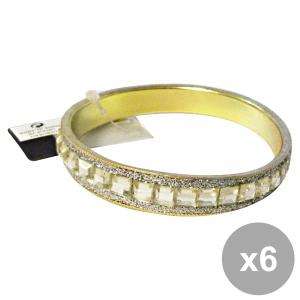 Set 6 DEBBY Bracelet Gemma Silver Body care