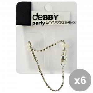 Set 6 Debby Bracelet Small Strass Body Care