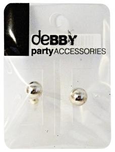 DEBBY Earrings Sphere Silver - Accessories Toilets