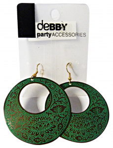 DEBBY Earrings Ethnic Green - Accessories Toilets