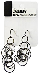 DEBBY Earrings Ad Rings Burnished - Accessories Toilets