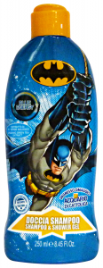 BATMAN Doccia shampoo 250 ml. - linea bimbo