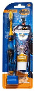 Batman Toothbrush + Toothpaste 25 Ml - Line Baby