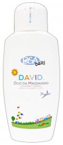 Dea Baby Oil Massage David 200 Ml - Line Baby