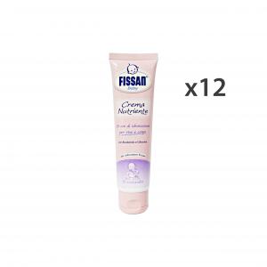 Fissan Set 12 Baby Cream Nutrient Face-body 100 Ml Line Baby