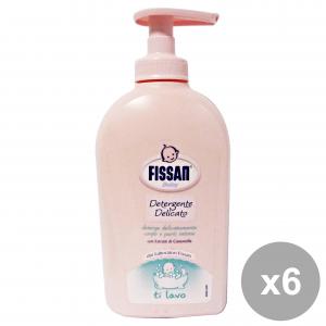 Fissan Set 6 Baby Detergent Delicate 300 Ml Line Baby