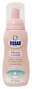 Fissan Baby Mousse Washing 200 Ml - Line Baby
