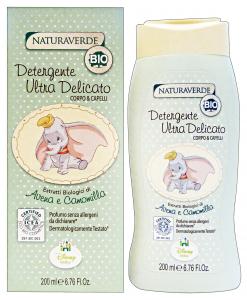 NATURAVERDE Bio Disney Detergente Ultra Delicato 200 Ml Cura Del Bambino E Neonato