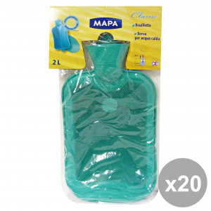 Set 20 Stock Exchange Water Warm Mapa 2 Lt Accessories For The House