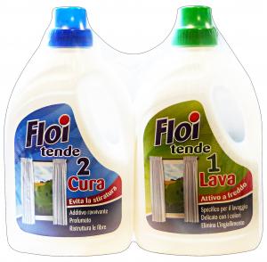 Floi Detergent Laundry Curtains Duet Lava + Care 1 + 1 Lt