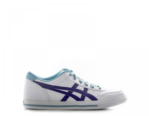 TIGER ONITSUKA Sneakers bambini bianco/viola con tomaia in pelle Unisex