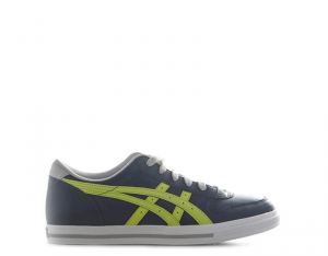 TIGER ONITSUKA Sneakers bambini blu/verde con tomaia in pelle Unisex