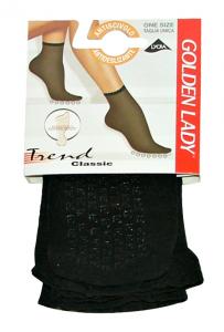 Socks Lycra Anti-slip Black 16 Gr
