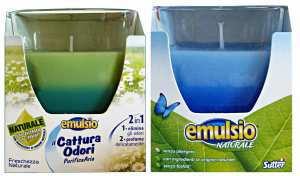 Emulsio Capture Odors Candle With Mixed Candles And Perfumers