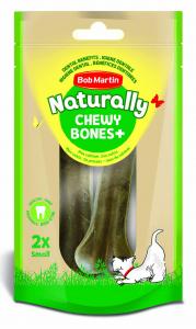 BOB MARTIN Ossi Naturally Con Calcio Piccolo 2 Pezzi 12233175 Snack Treat Cane