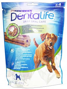 DENTALIFE Snack Igiene Dentale Large 4 Pezzi 142 Gr Cibo Per Cani