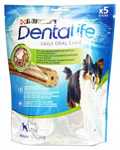 DENTALIFE Snack Igiene Dentale Medium 5 Pezzi 115 Gr Cibo Per Cani
