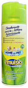 Emulsio Animal Care Deodorant Litter Box Citronella Spray 400 Ml