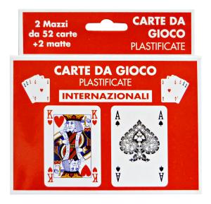 CANTINI Carte gioco intern. art.15975 - Articoli per la festa