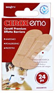 CEROX Cerotto emostatico ass.X24 pz. - Cerotti bende e garze