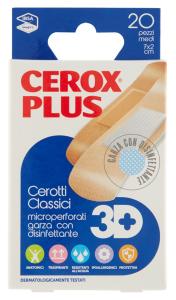 CEROX Plus 3D Cerotto Medio 20 Pezzi Prodotto Parafarmacia E Cura Della Persona