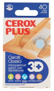 CEROX Plus 3D Cerotto 40 Pezzi Prodotto Parafarmacia E Cura Della Persona