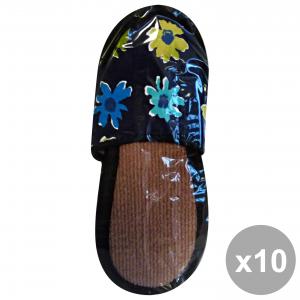 CASAPIU Set 10 Slippers Fabric SONIA 38-39 CIA0137B Shoes For the TeMP HAIRo Free