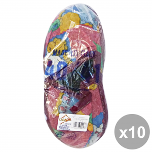 CASAPIU Set 10 Slippers Fabric SONIA 40-41 CIA0137C Shoes For the TeMP HAIRo Free