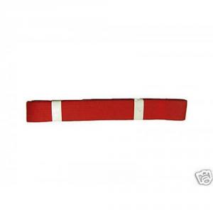 MYFIT Cintura judo karate CINTURA--ROSSO accessori boxe e arti marziali