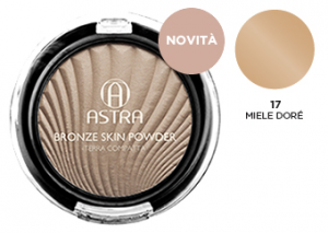 Astra Earth Compact 17 Honey Dorè - Cosmetics