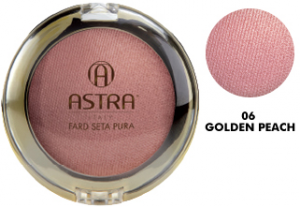 Astra Blush Expert Effect Silk 06 Golden ​​peach Cosmetic For The Face