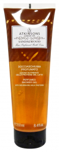 ATKINSONS Shower Sandal Wood 250 ml Soaps And Cosmetics