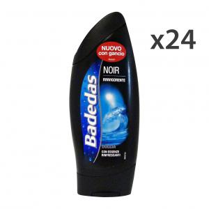 Set 24 BADEDAS Doccia NOIRE 250 Ml. Saponi e cosmetici