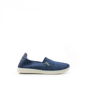 HEY DUDE Slip-On Femme Couleur Jeans Chaussures Occasionnel