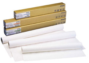 EPSON GRAPHICS Premium Semigloss Charter Photographic Roll , Paper Roll (w: 329) , 250g/m²