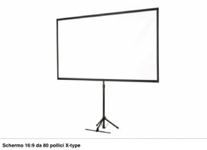 EPSON Screen (80Z Mobil X type16: 9) - ELPSC21