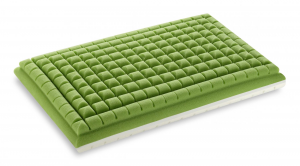 ERGO AIRFRESH Pillow Memory SAPONETTA Hardness Hard Green