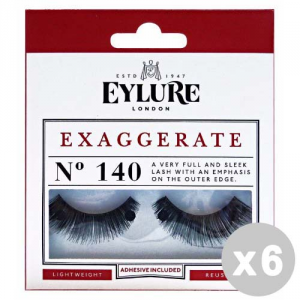 EYLURE Set 6 EYLURE Eyelashes Fake 140 Exaggerate Intense Lashes